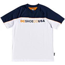 vaatteet Miehet Lyhythihainen t-paita DC Shoes Brookledge ss Valkoinen