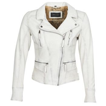 vaatteet Naiset Nahkatakit / Tekonahkatakit Oakwood CAMERA White