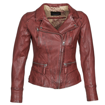 vaatteet Naiset Nahkatakit / Tekonahkatakit Oakwood CAMERA Red