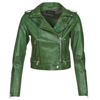 vaatteet Naiset Nahkatakit / Tekonahkatakit Oakwood KYOTO Green