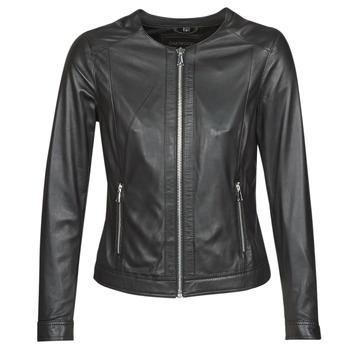 vaatteet Naiset Nahkatakit / Tekonahkatakit Oakwood PLEASE Black