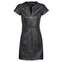 vaatteet Naiset Lyhyt mekko Oakwood PLEASE Black