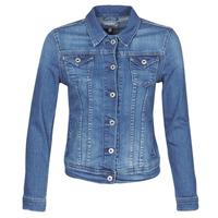 vaatteet Naiset Farkkutakki Pepe jeans THRIFT Blue / Hb6