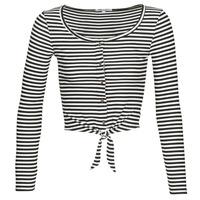 vaatteet Naiset Topit / Puserot Pepe jeans FALBALA Black