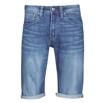 vaatteet Miehet Shortsit / Bermuda-shortsit Pepe jeans CASH Blue