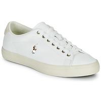 kengät Miehet Matalavartiset tennarit Polo Ralph Lauren LONGWOOD-SNEAKERS-VULC Valkoinen