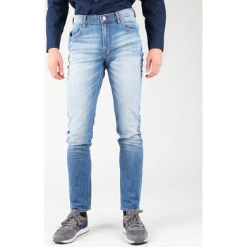 vaatteet Miehet Slim-farkut Lee Arvin L732CDJX blue
