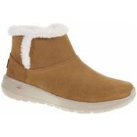 kengät Naiset Talvisaappaat Skechers ON The GO Joy Hunajan värinen