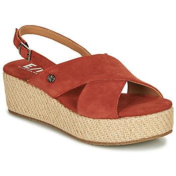 kengät Naiset Sandaalit ja avokkaat Elue par nous GESIEL Red