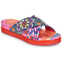 kengät Naiset Sandaalit Desigual NILO GALACTIC Blue / Red