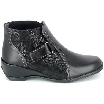 kengät Naiset Bootsit Boissy Boots Noir Musta