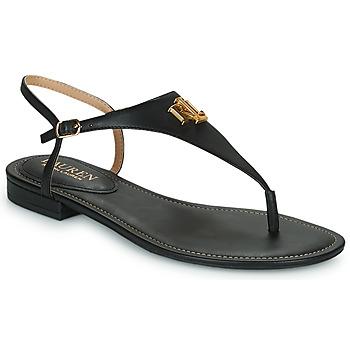 kengät Naiset Sandaalit ja avokkaat Lauren Ralph Lauren ELLINGTON SANDALS CASUAL Black