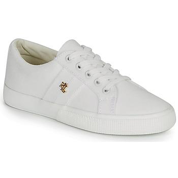 kengät Naiset Matalavartiset tennarit Lauren Ralph Lauren JANSON II White