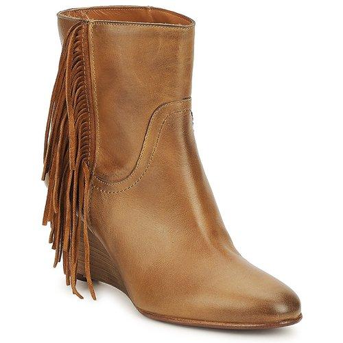 kengät Naiset Nilkkurit JFK ALEX HI Camel