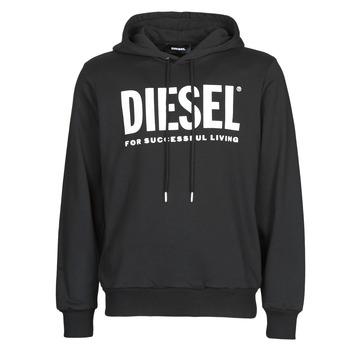 vaatteet Miehet Svetari Diesel GIR-HOOD-DIVISION Black