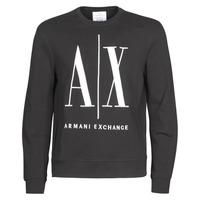 vaatteet Miehet Svetari Armani Exchange HELIX Musta