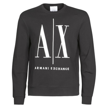 vaatteet Miehet Svetari Armani Exchange HELIX Black