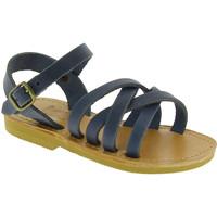kengät Miehet Sandaalit ja avokkaat Attica Sandals HEBE NUBUK BLUE blu