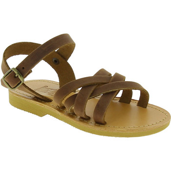 kengät Tytöt Sandaalit ja avokkaat Attica Sandals HEBE NUBUK DK BROWN Marrone medio