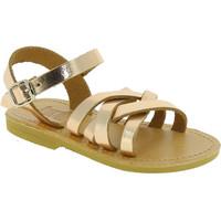 kengät Tytöt Sandaalit ja avokkaat Attica Sandals HEBE CALF GOLD PINK Oro rosa