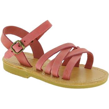 kengät Tytöt Sandaalit ja avokkaat Attica Sandals HEBE NUBUK PINK Rosa chiaro