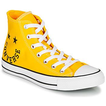 kengät Korkeavartiset tennarit Converse CHUCK TAYLOR ALL STAR - HI Keltainen