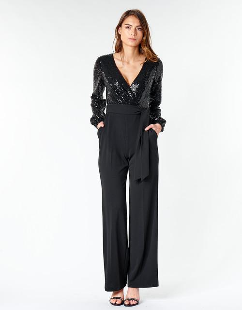 vaatteet Naiset Jumpsuits / Haalarit Lauren Ralph Lauren Alexis Black