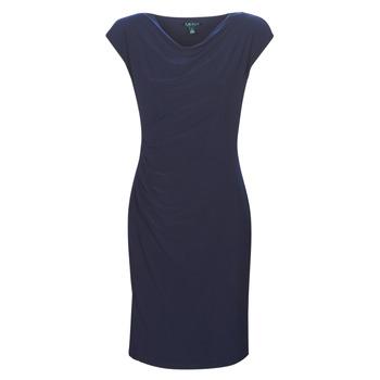 vaatteet Naiset Lyhyt mekko Lauren Ralph Lauren Ancelin Laivastonsininen