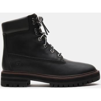 kengät Naiset Nilkkurit Timberland London square 6in bo Musta