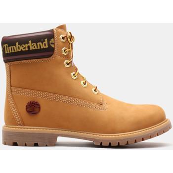 kengät Naiset Nilkkurit Timberland 6in prem w/sock colar Viininpunainen