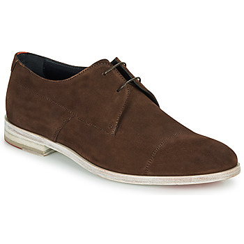 kengät Miehet Derby-kengät HUGO MIDTOWN DERB SD Brown
