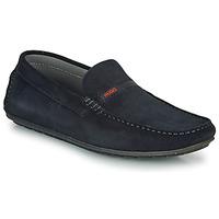 kengät Miehet Mokkasiinit HUGO DANDY MOCC SD2 Sininen