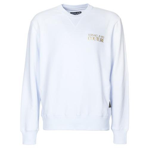 Versace Jeans Couture B7gva7fb White - Ilmainen Toimitus- Vaatteet Svetari Miehet 113