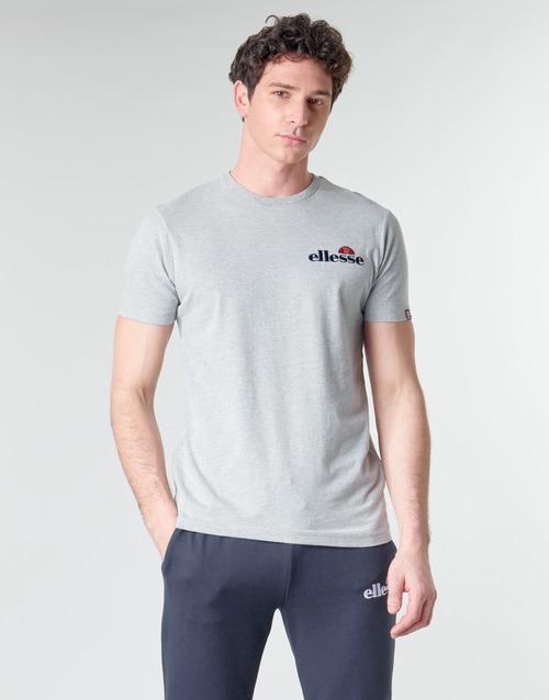 Ellesse Pap Voodoo Grey - Ilmainen Toimitus- Vaatteet Lyhythihainen T-paita Miehet 28