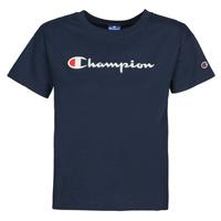 vaatteet Naiset Lyhythihainen t-paita Champion KOOLATE Laivastonsininen