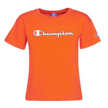 vaatteet Naiset Lyhythihainen t-paita Champion KOOLATE Punainen