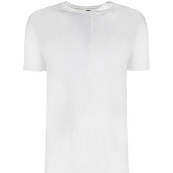 vaatteet Miehet Lyhythihainen t-paita Barbarossa Moratti  Valkoinen