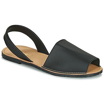 kengät Naiset Sandaalit ja avokkaat So Size LOJA Black