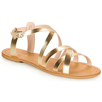 kengät Naiset Sandaalit ja avokkaat So Size IDITRON Kulta