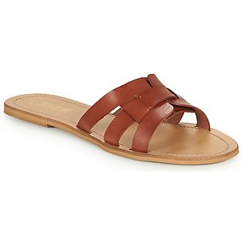 kengät Naiset Sandaalit So Size MELINDA Camel