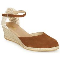 kengät Naiset Sandaalit ja avokkaat So Size JITRON Camel