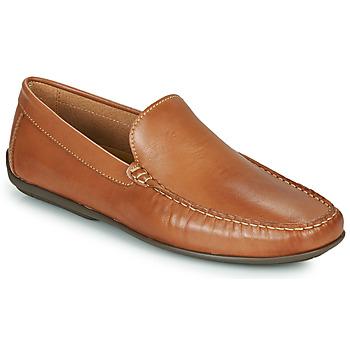 kengät Miehet Mokkasiinit So Size MILLIE Kamelinruskea