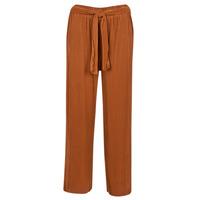 vaatteet Naiset Väljät housut / Haaremihousut Moony Mood MERONAR Brown