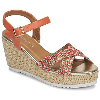 kengät Naiset Sandaalit ja avokkaat Moony Mood MELISSA Koralli