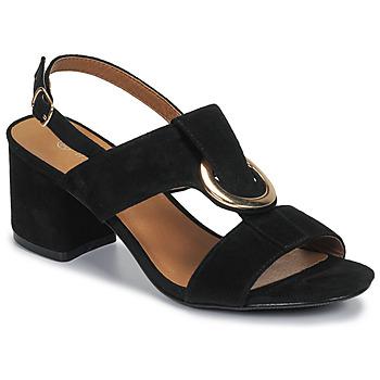kengät Naiset Sandaalit ja avokkaat Moony Mood MANY Musta