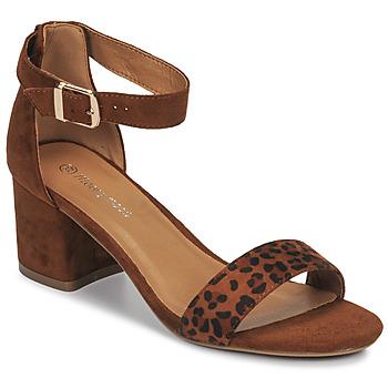 kengät Naiset Sandaalit ja avokkaat Moony Mood MEDIO Leopardi