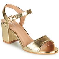 kengät Naiset Sandaalit ja avokkaat Moony Mood MEGANE Kulta