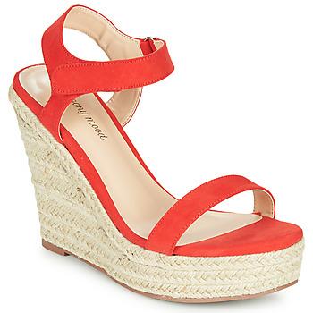 kengät Naiset Sandaalit ja avokkaat Moony Mood MARLEINE Punainen