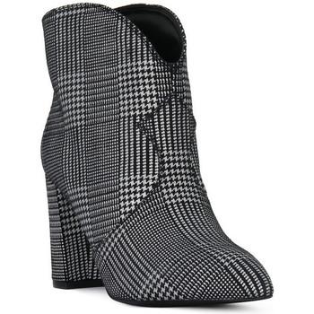kengät Naiset Nilkkurit Café Noir CAFE ' NOIR TRONCHETTO Nero