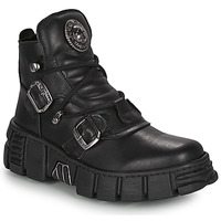 kengät Bootsit New Rock ARIA Black